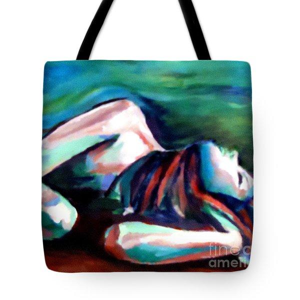 Silent Solitude Tote Bag by Helena Wierzbicki