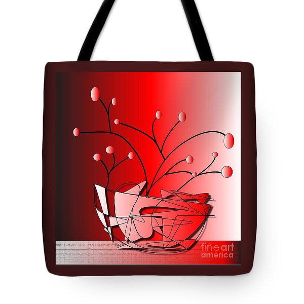 Tote Bag featuring the drawing Simplicity by Iris Gelbart