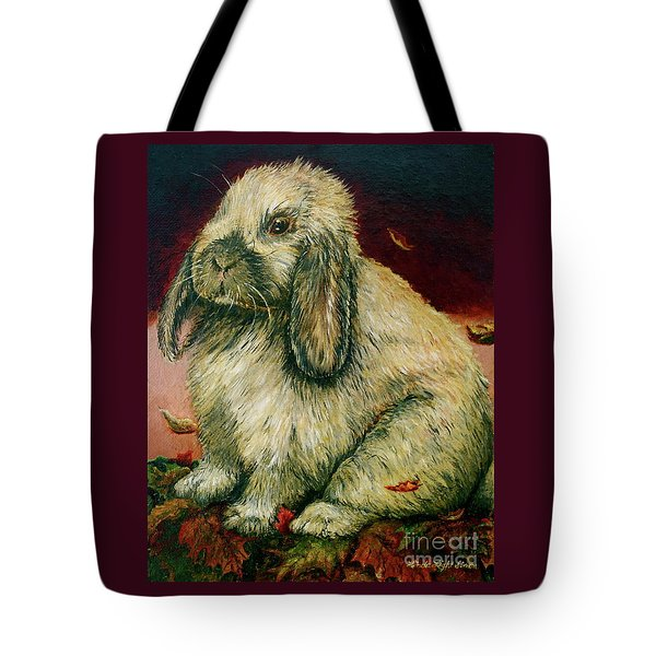 Some Bunny Is A Honey Tote Bag by Linda Simon
