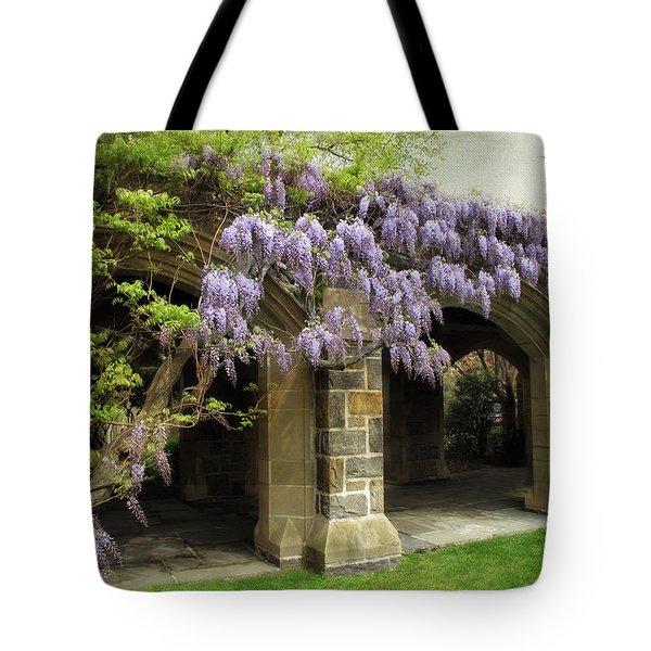 Spring Wisteria Tote Bag