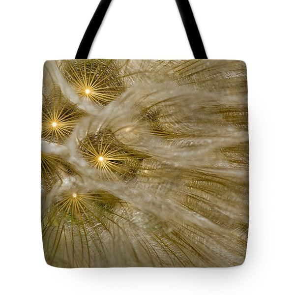 Spun Gold Tote Bag by Betty Depee