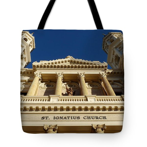 St. Ignatius Catholic Church Tote Bag