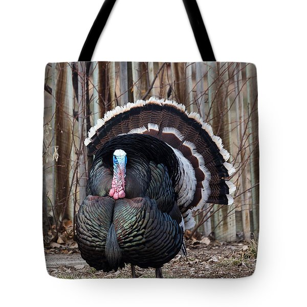 Strutting Turkey Tote Bag