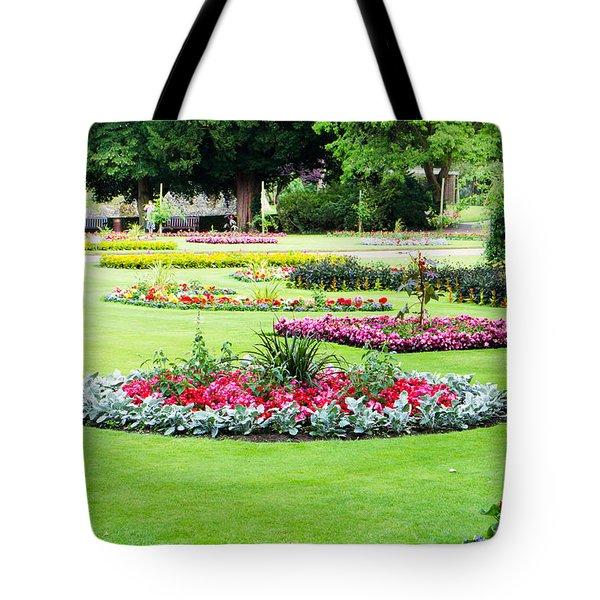 Summer Garden Tote Bag by Tom Gowanlock