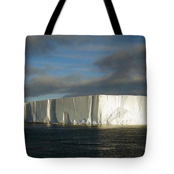 Tabular Iceberg Antarctica Tote Bag by Carole-Anne Fooks