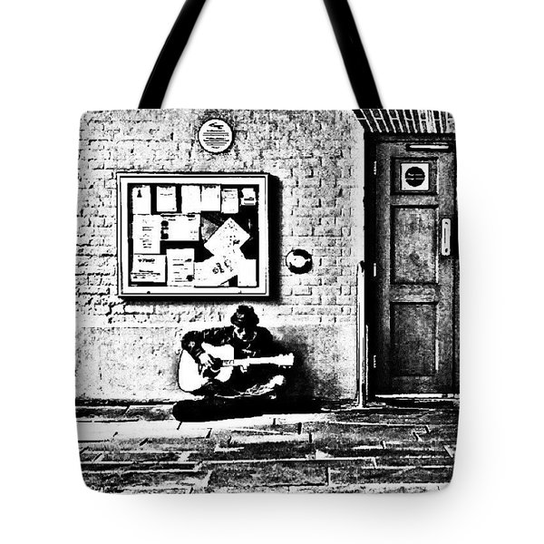 The Busker 2 Tote Bag