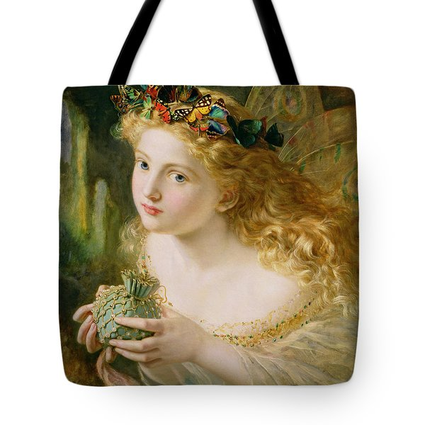Take The Fair Face Of Woman Tote Bag
