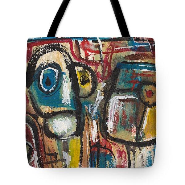 3 Talkers Tote Bag
