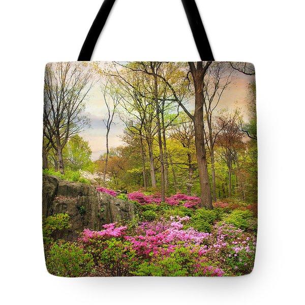 The Azalea Garden Tote Bag