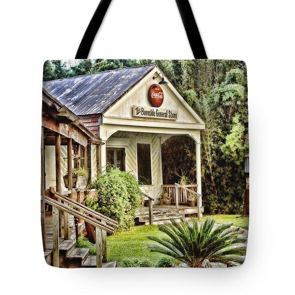 The Burnside General Store Tote Bag by Scott Pellegrin