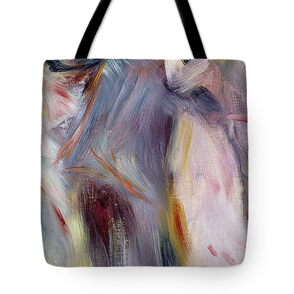 The Dance In The Country Tote Bag by Pierre Auguste Renoir