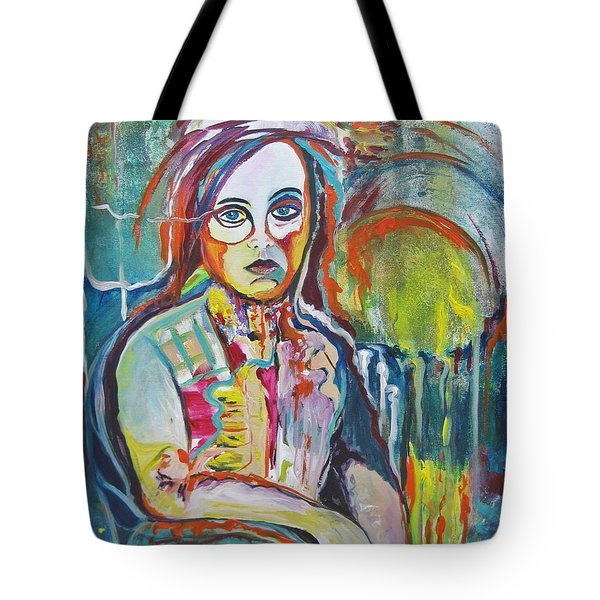 The Show Must Go On Tote Bag by Diana Bursztein