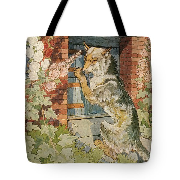 The Three Little Pigs Tote Bag by Granger