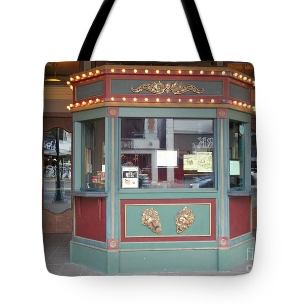 Tote Bag featuring the photograph The Tivoli Theatre by Kelly Awad