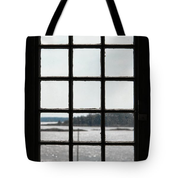 Through An Old Window Tote Bag
