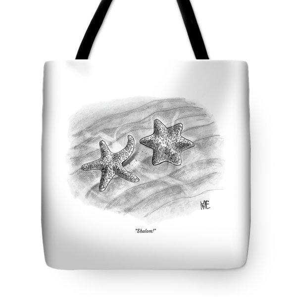 Shalom! Tote Bag