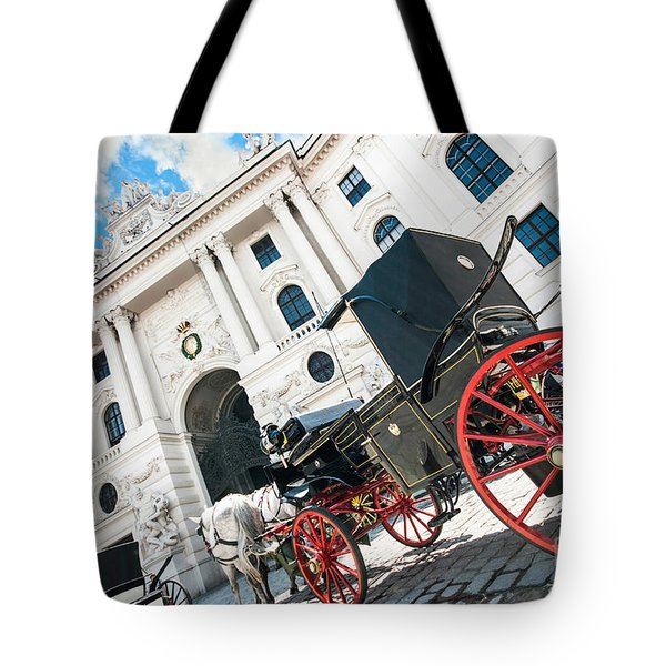 Vienna Tote Bag by JR Photography
