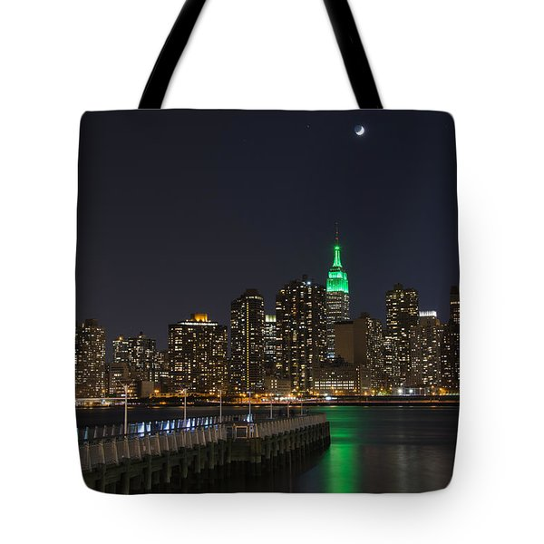 View From Gantry Plaza State Park Tote Bag