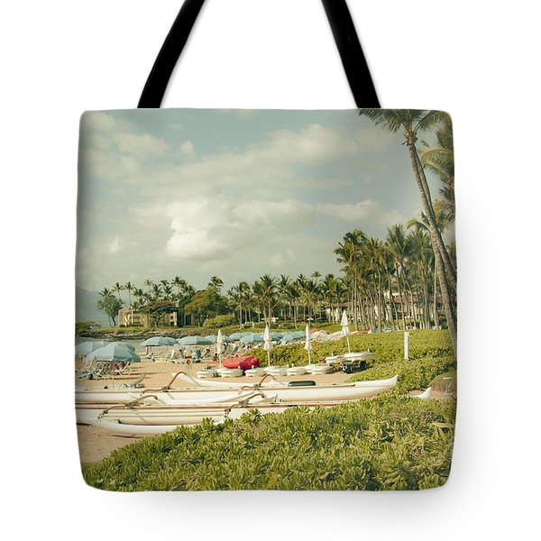 Wailea Beach Maui Hawaii Tote Bag