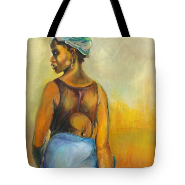 Wash Day Tote Bag by Daun Soden-Greene