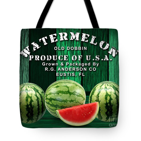 Watermelon Farm Tote Bag