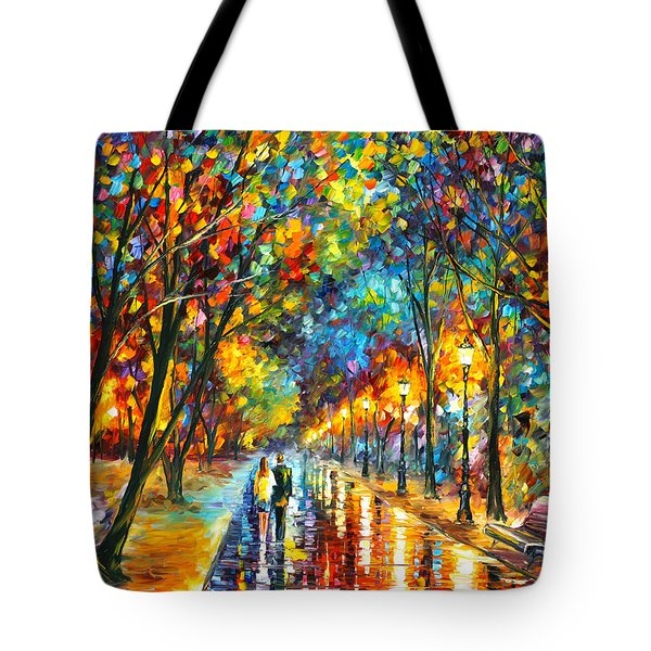 When Dreams Come True Tote Bag by Leonid Afremov