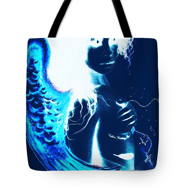 When Heaven And Earth Collide 1 Tote Bag