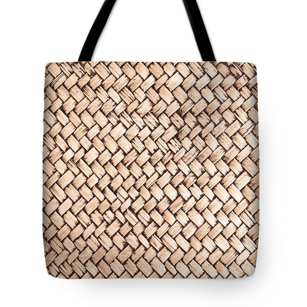 Wicker Background Tote Bag