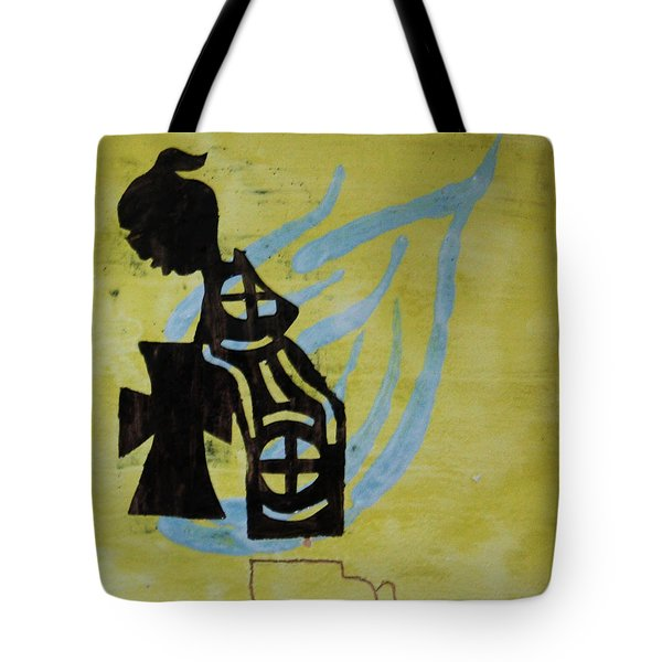 Wise Virgin Tote Bag by Gloria Ssali