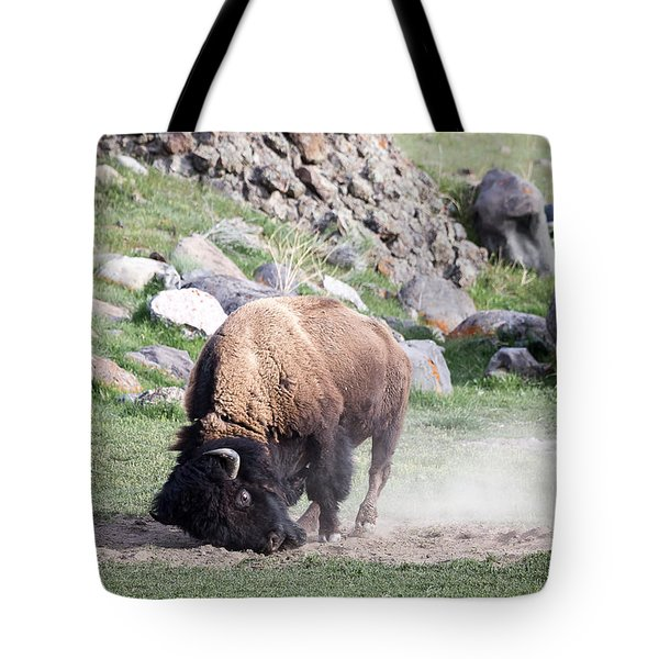 Yellowstone Bison Tote Bag