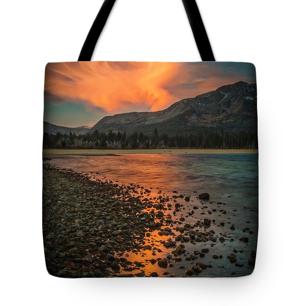 Tote Bag featuring the photograph 30 Seconds by Mitch Shindelbower