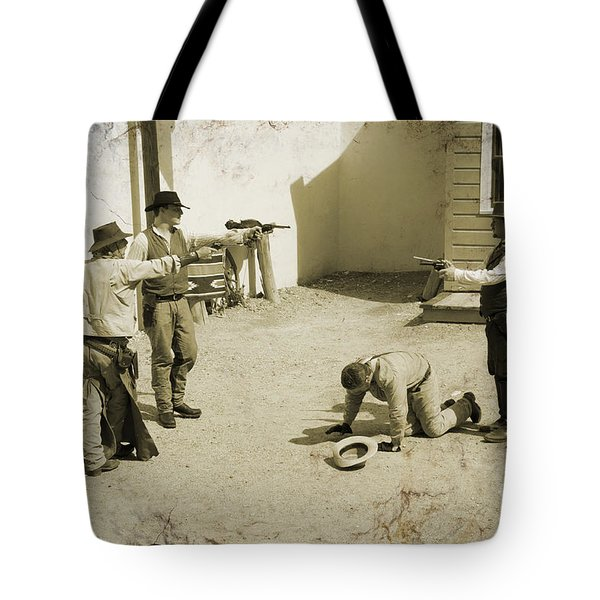 30 Seconds To Die In Tombstone Tote Bag
