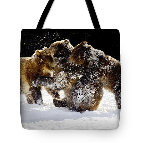 300 Pound Playmates Tote Bag