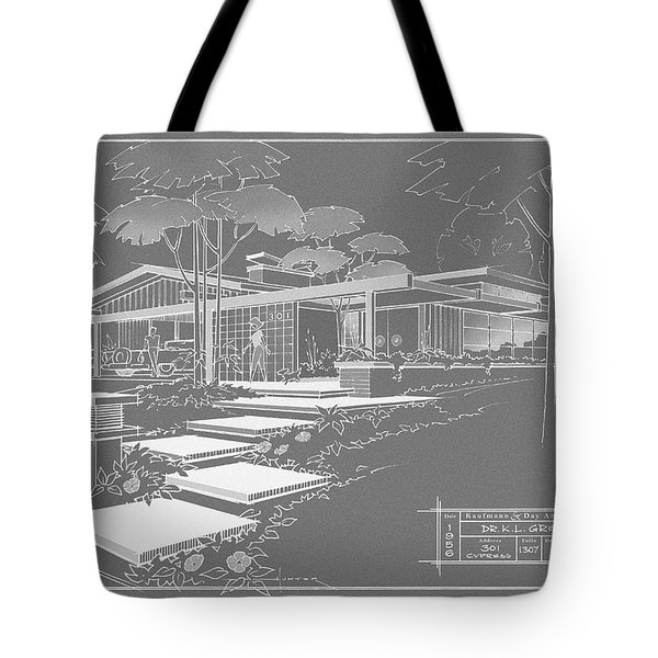 301 Cypress Drive - Charcoal Tote Bag
