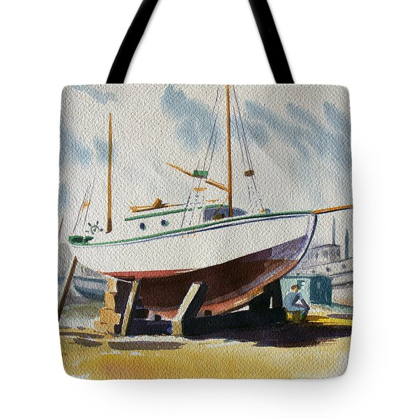 The Shipyard Tote Bag