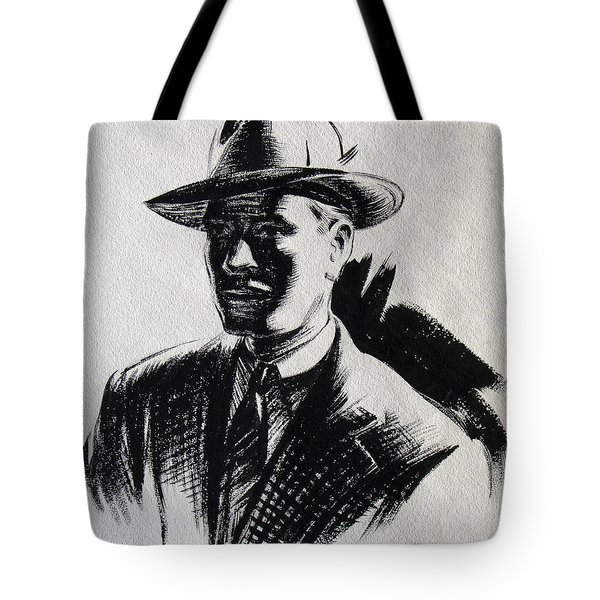 Secret Agent Study 2 Tote Bag