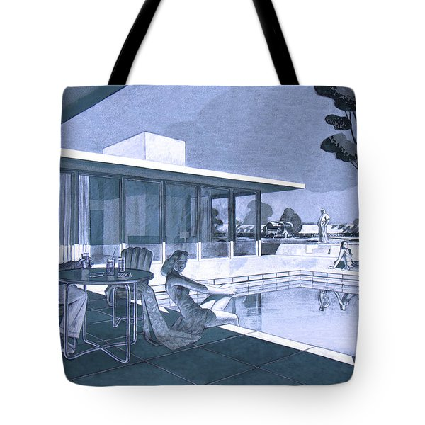 Palm Springs Sunday Tote Bag