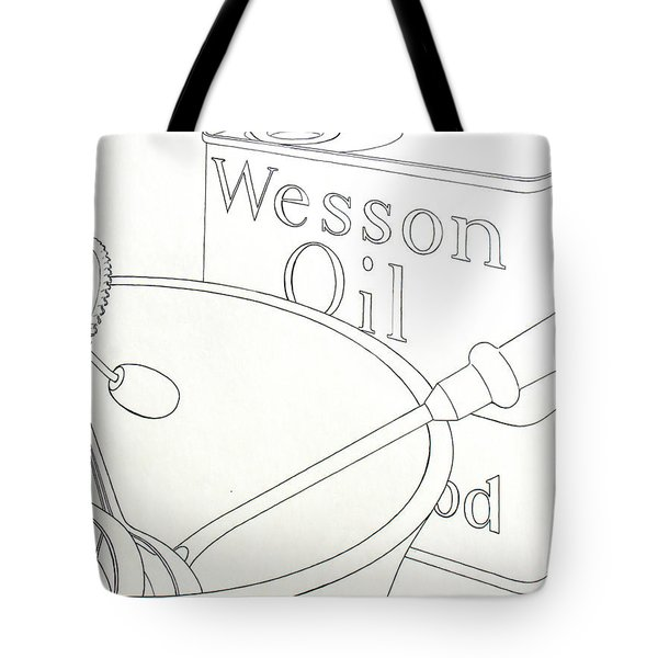 Wesson Oil Tote Bag