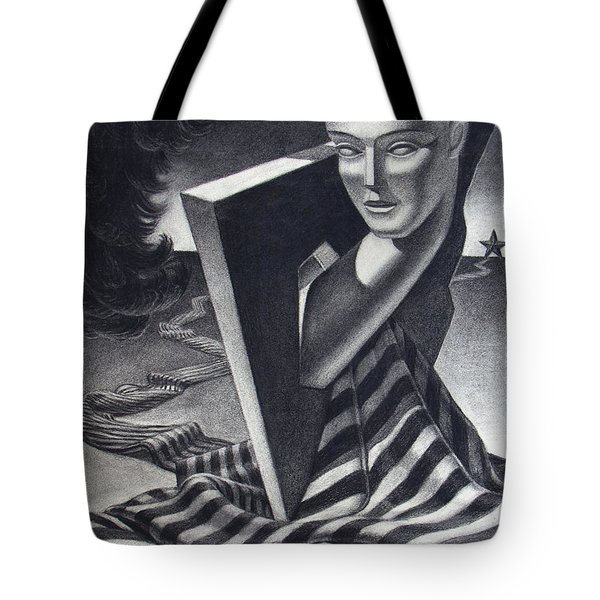 Architecture Of Imagination Tote Bag