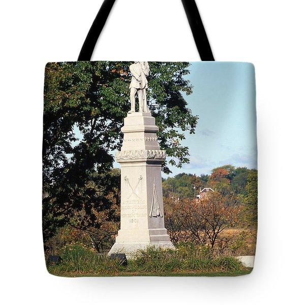 30u13 Hood Park Monument To Civil War Soldiers And Sailors Photo Tote Bag