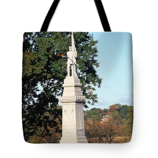 30u13 Hood Park Monument To Civil War Soldiers And Sailors Photo Tote Bag