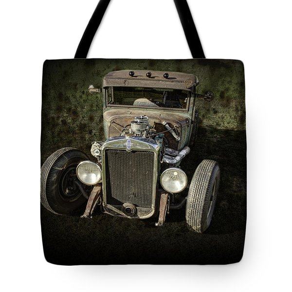 31 Chevy Rat Rod Tote Bag