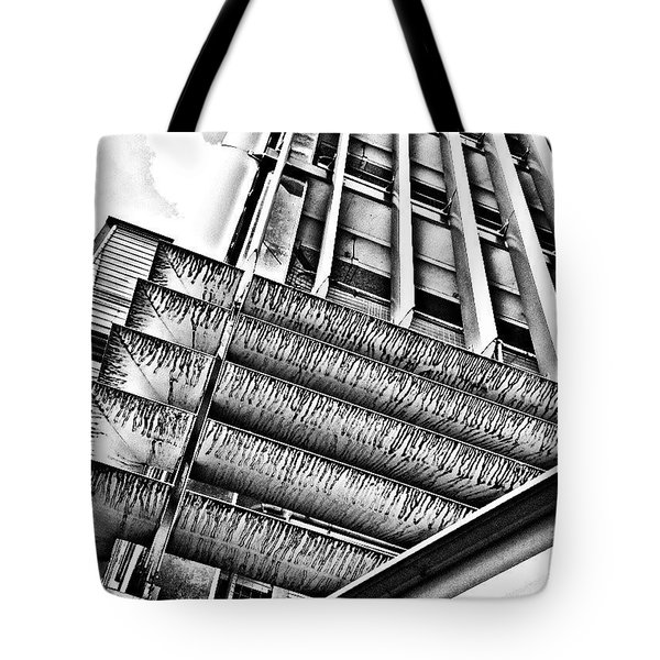 Car Park Tote Bag by Jason Michael Roust