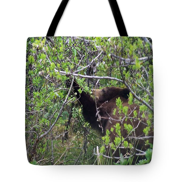 3159 Breakfast In Alaska Digital File Tote Bag