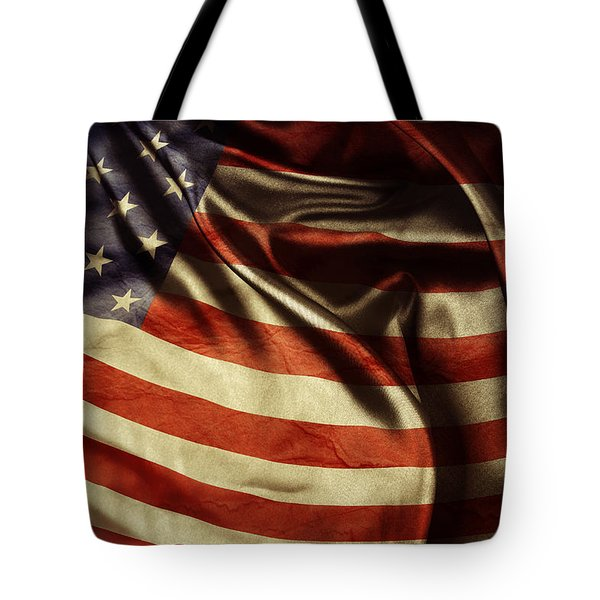 American Flag 51 Tote Bag