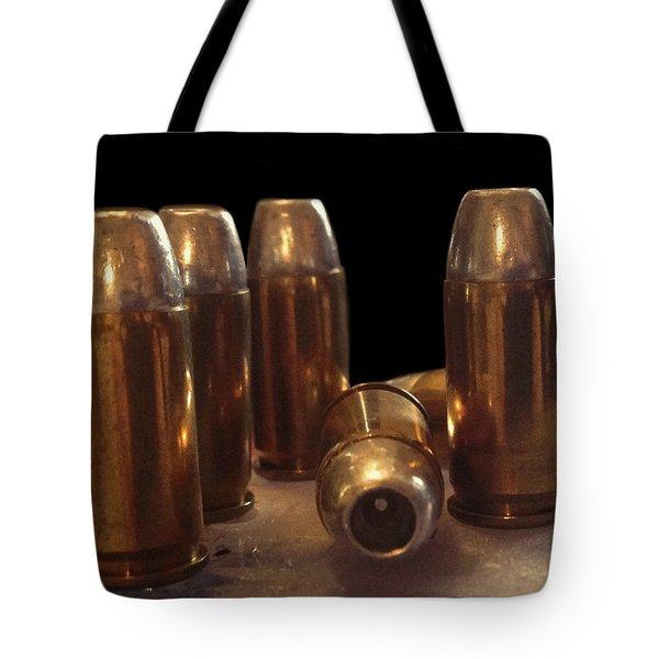 Bullet Art 32 Caliber Bullets 3514 Tote Bag