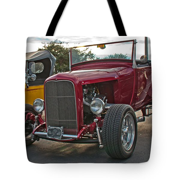 Tote Bag featuring the photograph 32 High Boy by John Black