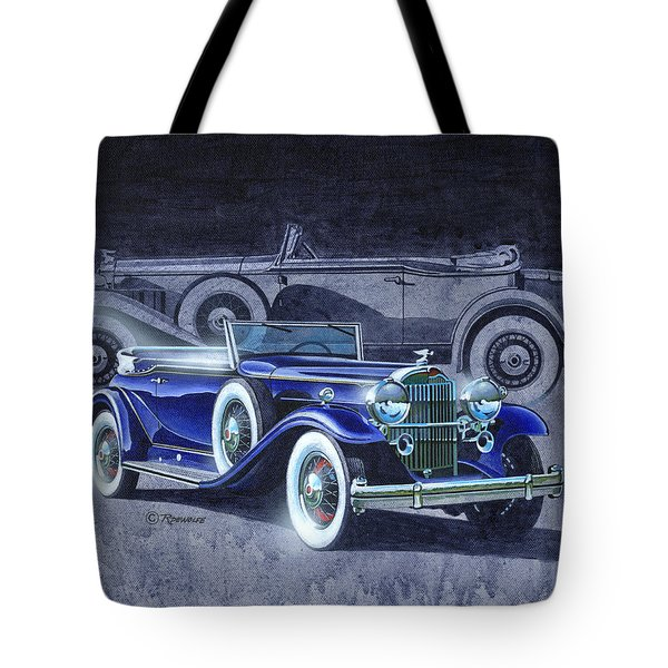32 Packard Tote Bag