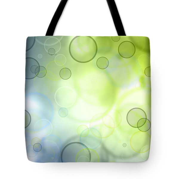 Abstract Circles 44 Tote Bag