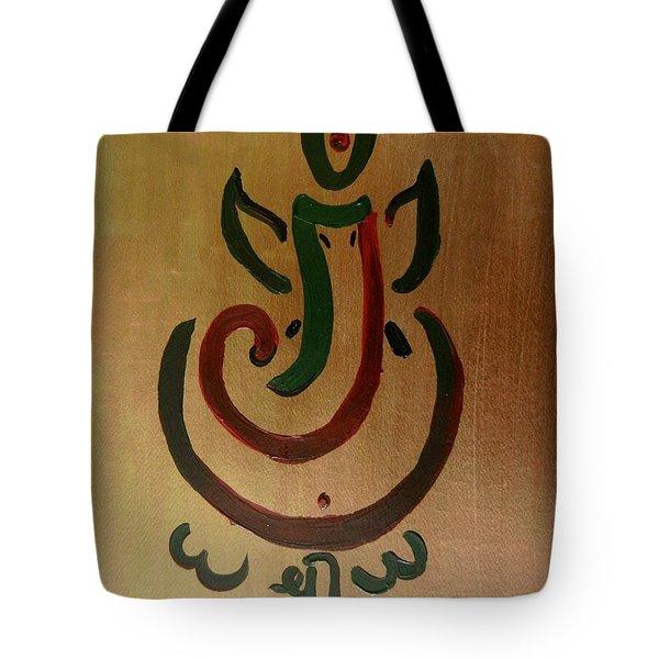 33 Rakta Ganesh Tote Bag by Kruti Shah